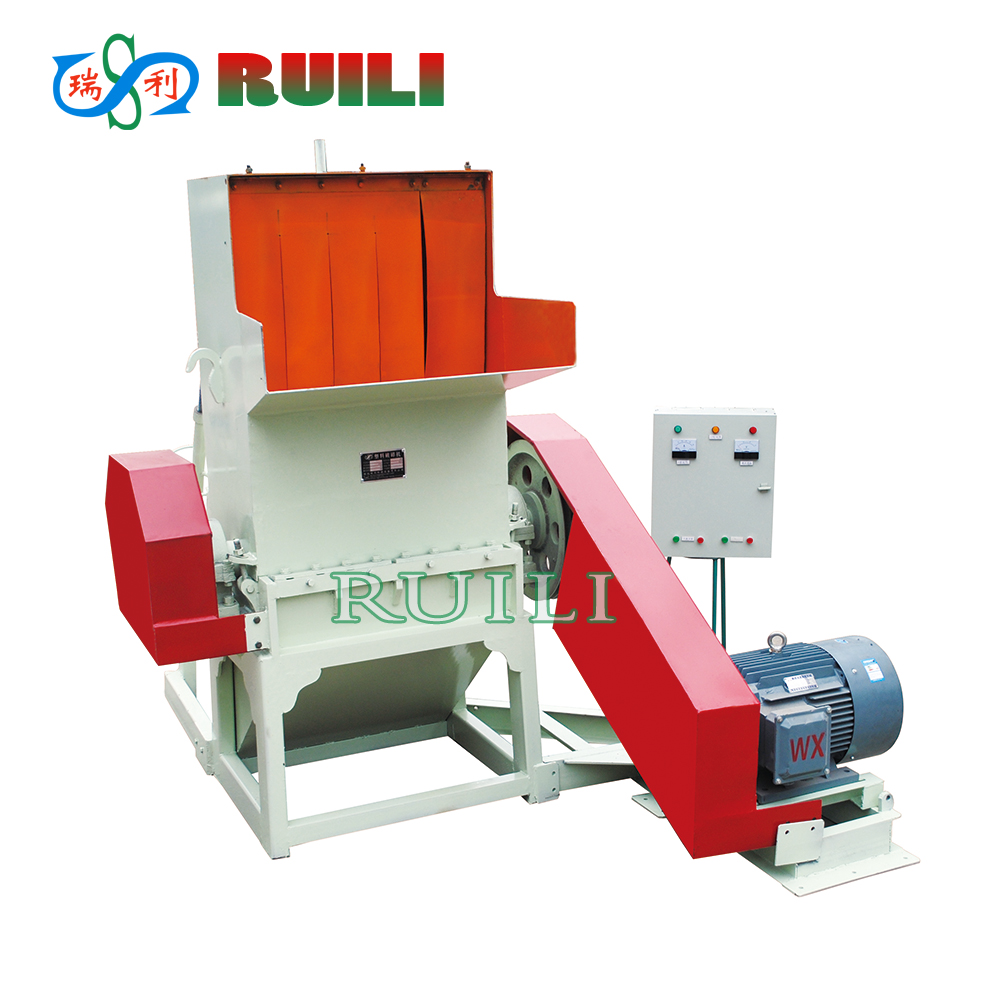 Plastic Recycling Equipment Plastic Crusher for PET Bottle Cap