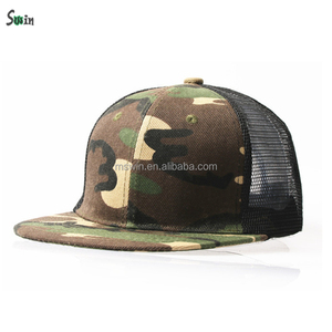 stylish six panel design high crown one size fits all blank custom camo  mesh snapback hats a2e3ff0b0293