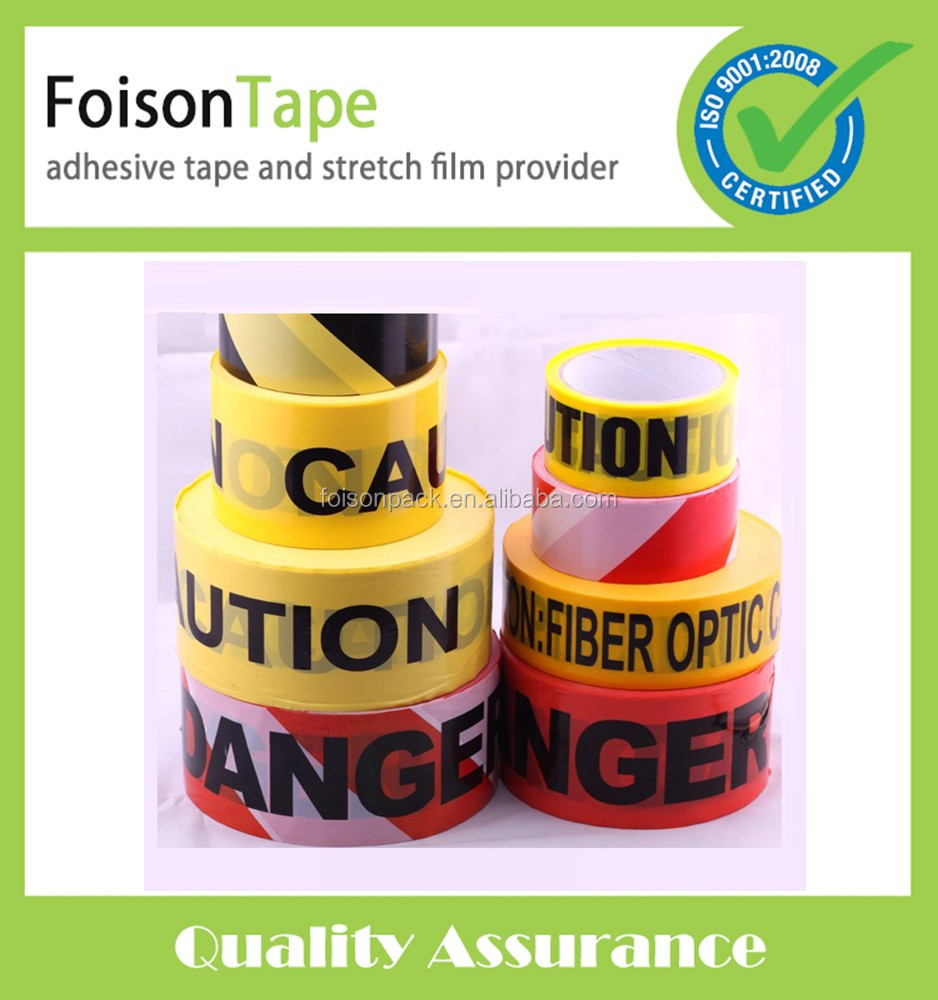 Colorful Printed Caution Tape Warning Barrier Tape