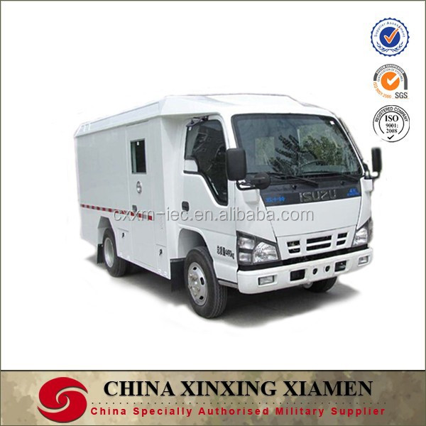 Armored QINGLING 600P cash in transit vehicle