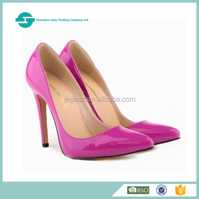 Fashion ladies patent leather shoes women colors optional fancy shoes