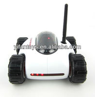 Wifi-Controlled Rover RC Tank (played with iPhone/iPad/iTouch/iPod/Android)