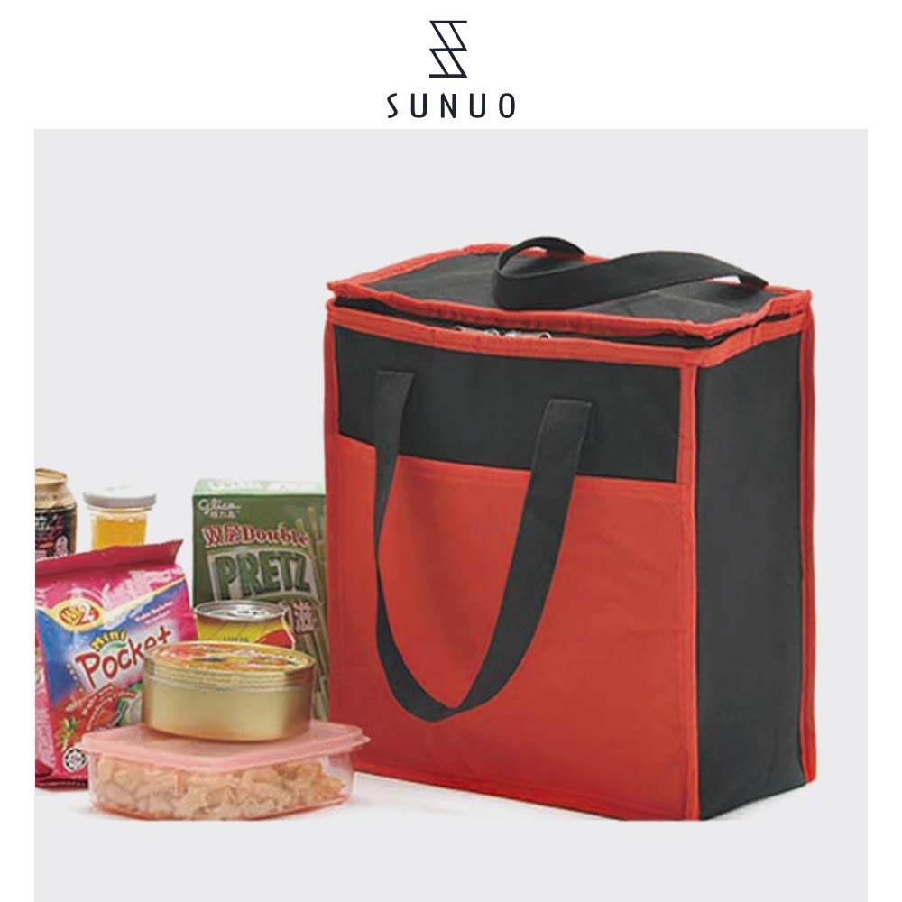 Customized 600D Hand Carrying Bag Multifunctional Cooler Bag For Foods And Phones Carrying