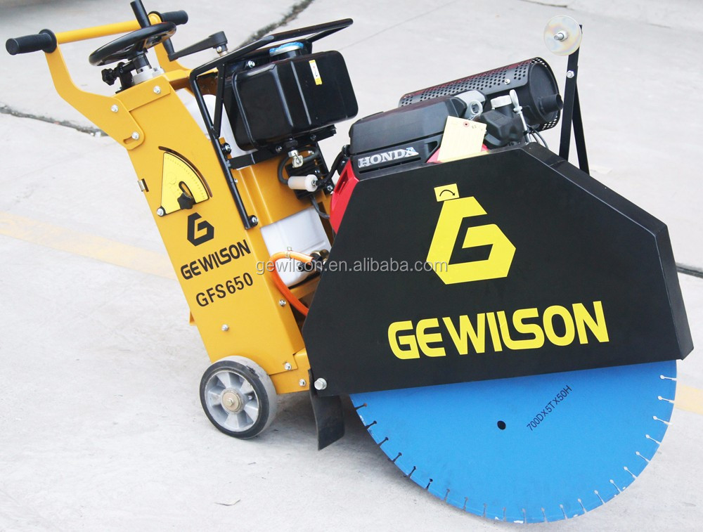 Walk behind Concrete cutter,Concrete floor saw