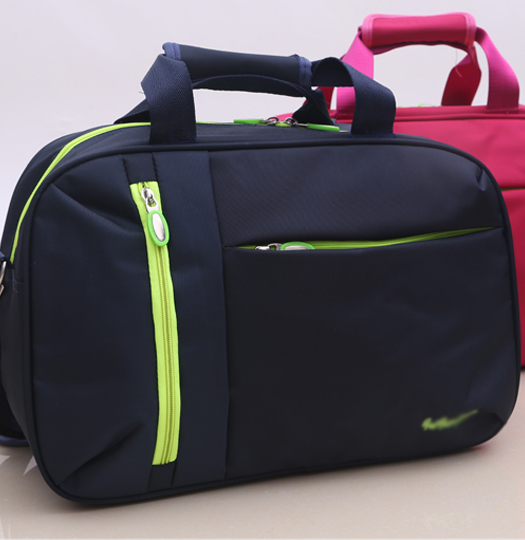 China Cheap Blue/Grey Sports Mens Travel Duffle Bags Luggage