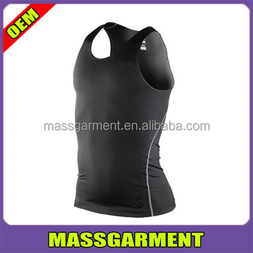 2016 new style custom wholesale unisex men gym tank tops polyester gym clothing
