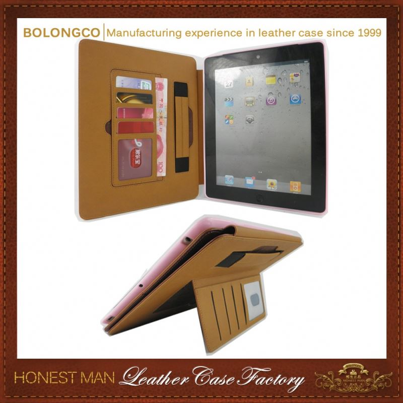 Excellent Quality The Most Popular Oem Design Leather Case For Ipad