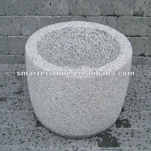 Granit blumentopf f r garten dekoration blumentopf und for Blumentopf dekoration