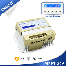 high efficiency MPPT solar controller rs232