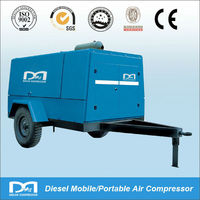Diesel Portable Air Compressor With Jack Hammer