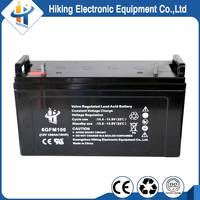 High quality agm 12v 100ah deep cycle battery for solar power system