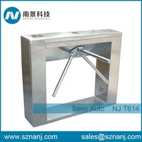 Tripod turnstile barrier gate manual barrier gate with rfid card reader