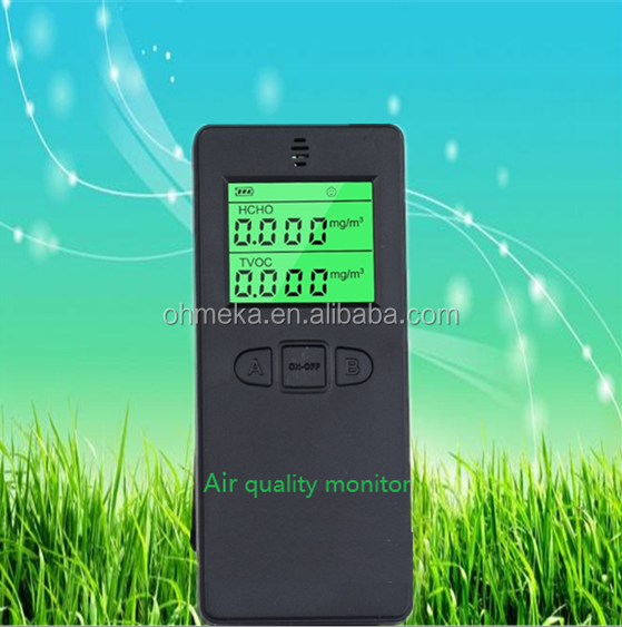 Personal Cheaper Best Newly handheld portable gas formaldehyde detector for home