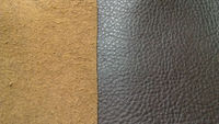 alcantara leather cow hide leather with emboss for sofa furniture BMW car