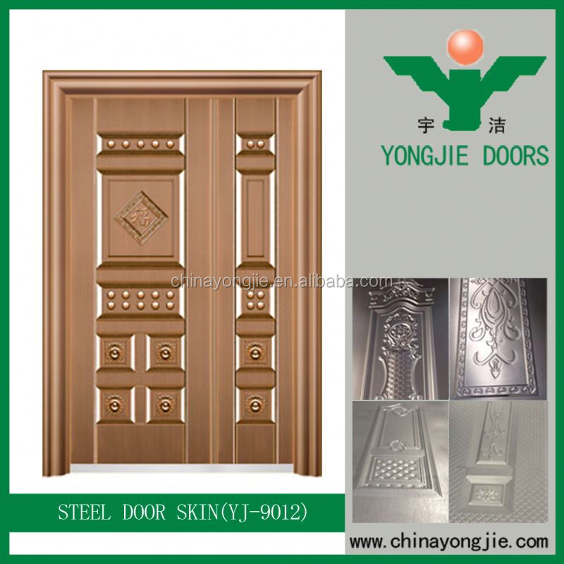 Yujie Cold Rolled Steel Sheet American Steel Door China 2016