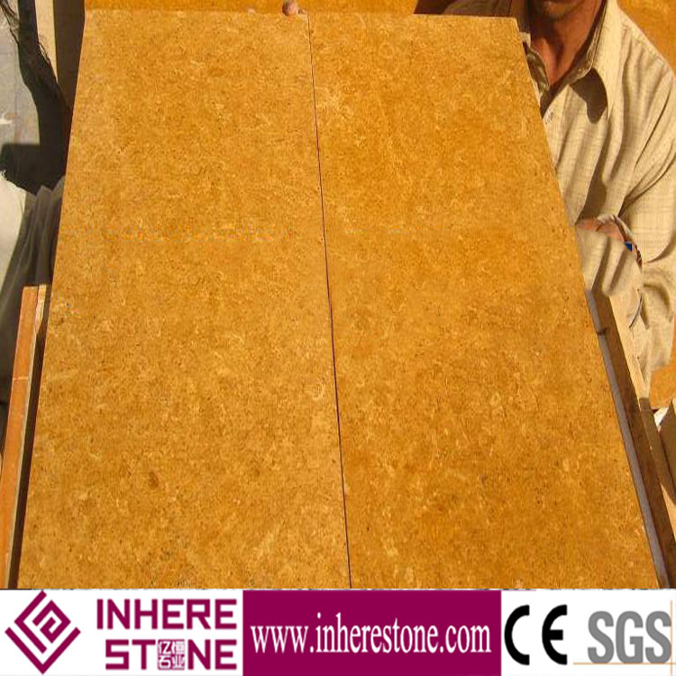 8x8 polished golden marble floor tiles for sale