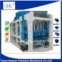 Cheap block machine QT10-15 full automatic production machine for cement hollow brick making
