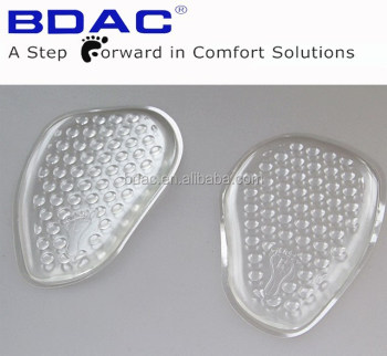comfortable foot cushion gel metatarsal pad wholesale insole for shoes