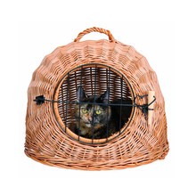 China supplier Wholesale Customized Wicker Animal Cage ,Wicker Pet Cages, Carriers & Houses for Cat/Dog