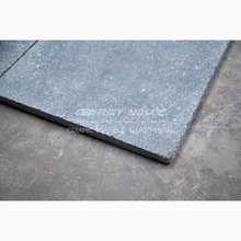 Low price antique honed & tumbled bluestone flooring tile