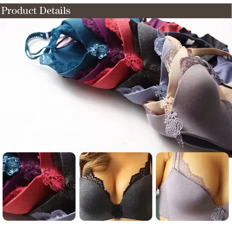 2017 new fashion wholesale cheap ladies panties and bra sexy bra panty set