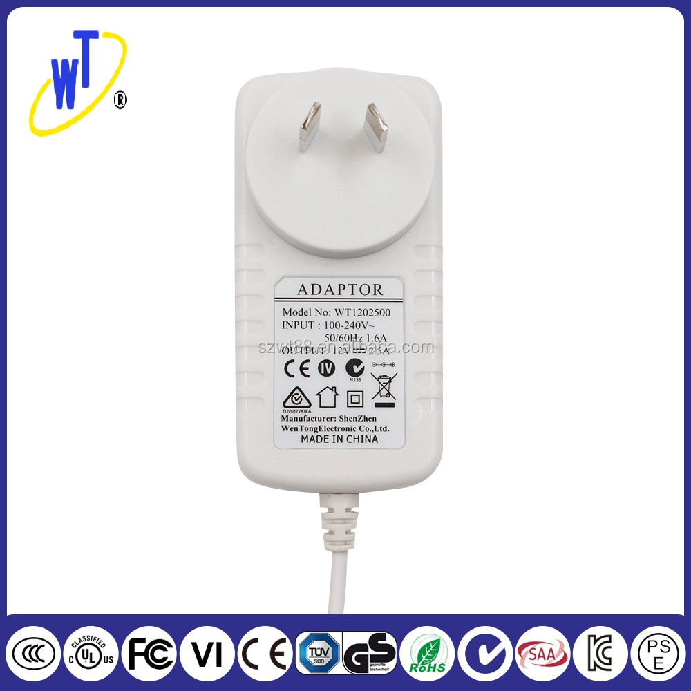 Large supply 30W AC DC Power Adapter For Australia