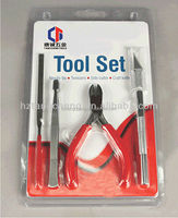 4PC Tool Set Stainless Steel Tweezers Set Pliers Hand Tool Kit Hardware Tool Assortment