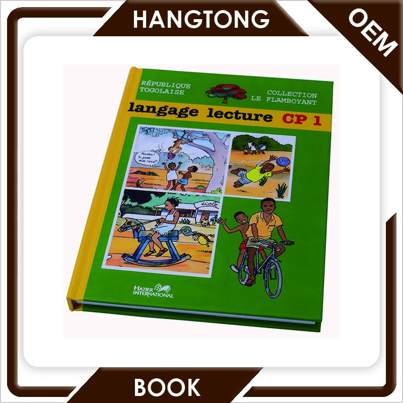 Custom offset hardcover book, low cost hardcover book printing