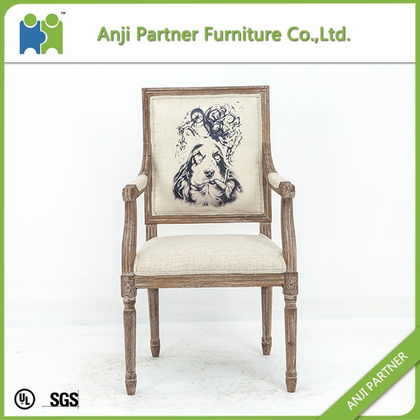 Colorful customize design fabric dining chair for sale(Judith)