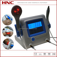 HNC factory 650nm & 808nm laser semiconductor to treat body pain, sports injuries, woulds, ulcers