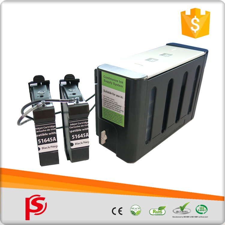 CISS system continuous ink cartridge compatible form system printer