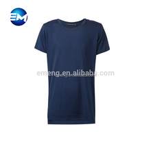 New Cheap Blank Customized Crew Neck Fashion Trends Color T shirt