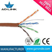1000FT Bulk PE Sheathed 4 Pairs 24AWG Copper Cat5e Indoor Outdoor UTP Cable