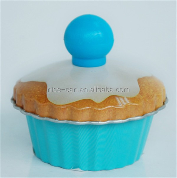 Nice -Can Manufacturer Cake Tins Shaped Baking Tin with Mushroom Cap