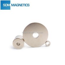 Professional manufacturers radial magnetization ring magnet with ISO/TS 16949