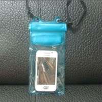 Clear PVC plastic waterproof case