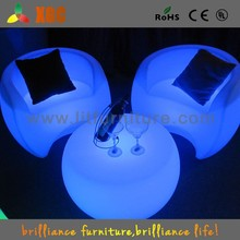 Shenzhen Multicolor Rechargeable LED Coffee Table