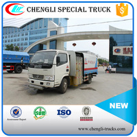 DONGFENG 4*2 115hp 3000 Liters Road Guardrail Cleanout Truck