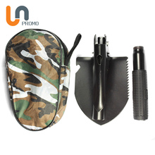Camping Aluminum Alloy Collapsible Shovel Spade In China