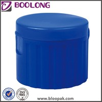 Personal care plastic flip top water bottle cap