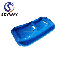 New Design Snow Sled Plastic Sledge Ski Scooter Winter Toy Factory