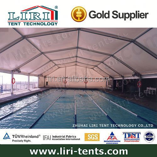 Polygon Sport Event Marquee Used as Swimming Pool