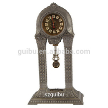 China metal antique standing souvenir gift clock