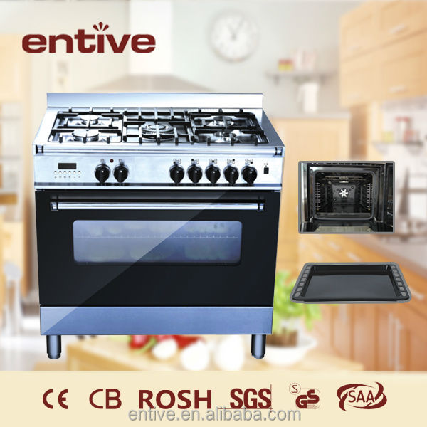 Cheap price 3 burner commercial cooking range