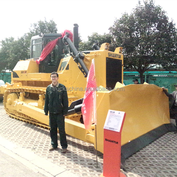 320HP SD32 China famous SHANTUI BRAND crawler bulldozer price