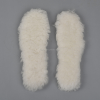 XT11 Lamb skin wool thick warm insoles