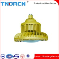 Aluminum alloy industry 120W outdoor indoor ip54 ip65 ip66 Explosion proof circular led light