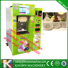 Soft icecream vending machine / ice cream vending machine coin operated