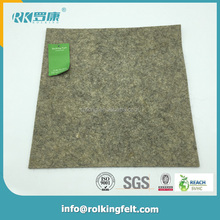 Heat preservation pressed producer custom made 10mm thick organic wool felt