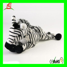 LE B180 Real animal stuffed Zebra plush animal toy